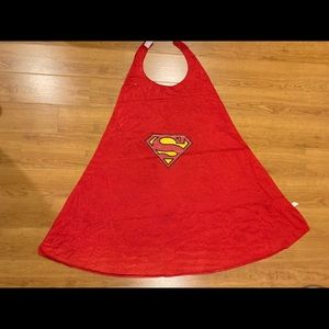Red Superman Cape Youth One Size
